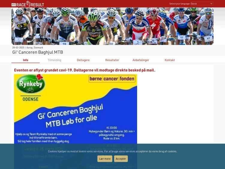 Gi`Canceren Baghjul - Motionsløb
