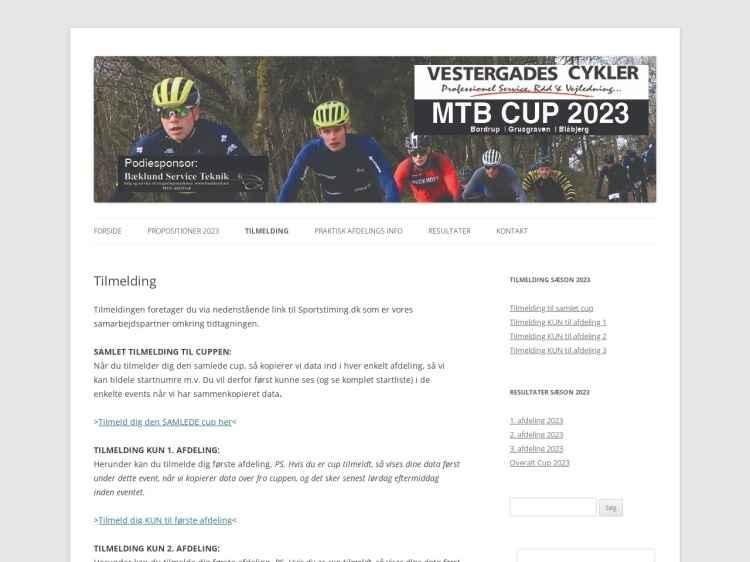 Vestergades Cykler MTB Cup 2020 #2 - MTB Cup