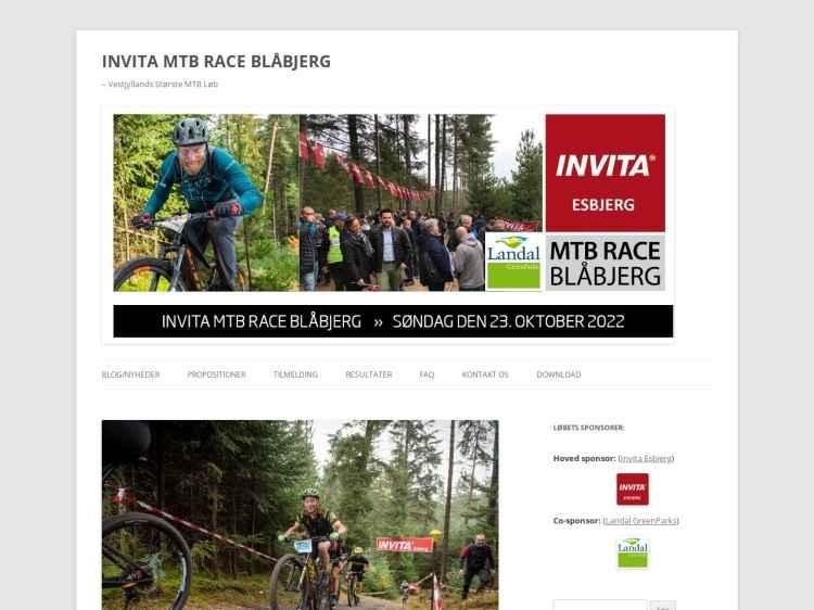INVITA MTB RACE BLÅBJERG 2020 - Motionsløb.