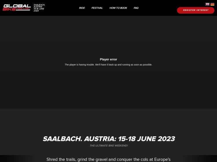Global Bike Festival - Festival