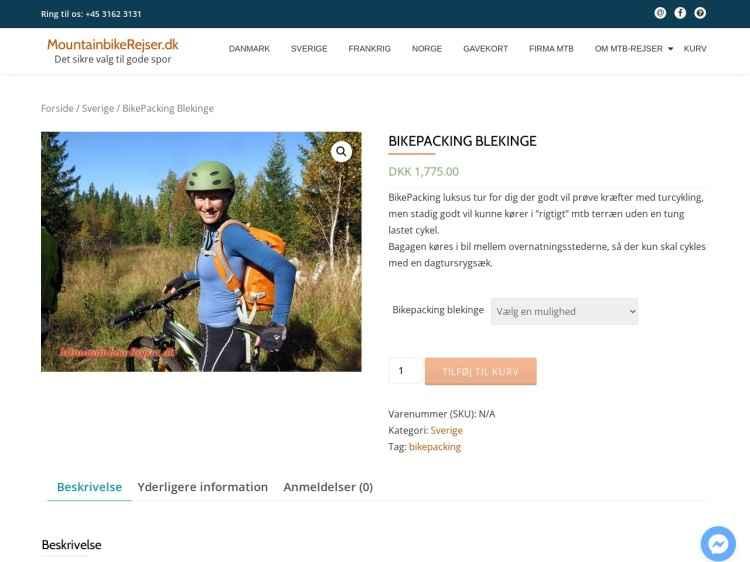 BikePacking Blekinge - Ferie