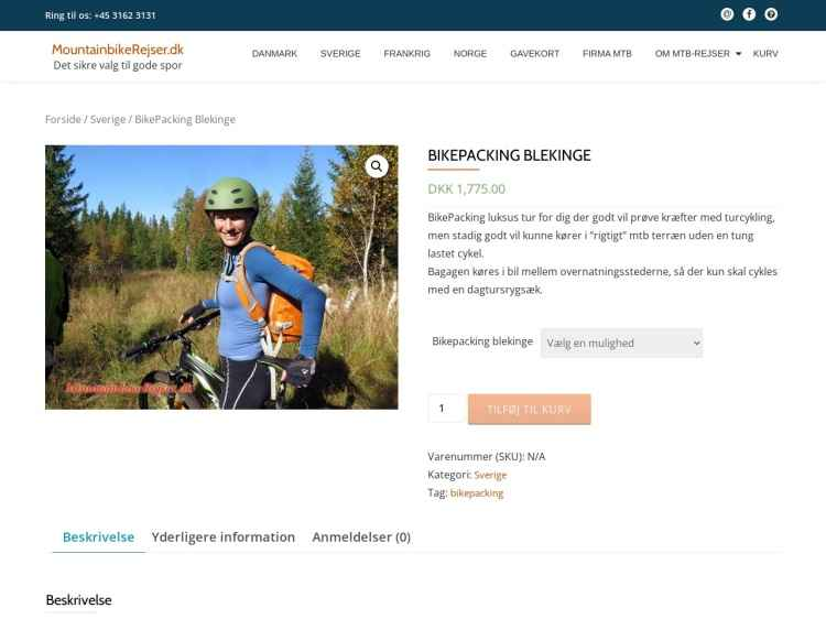 BikePacking i Blekinge