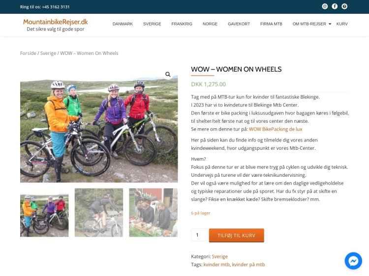 WOW - Women On Wheels - Ferie