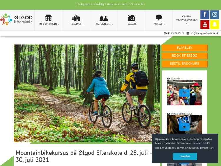 Mountainbikehøjskole - Kursus