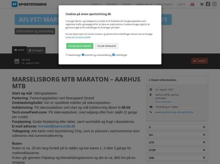 Marselisborg MTB Maraton 2021 - Maraton