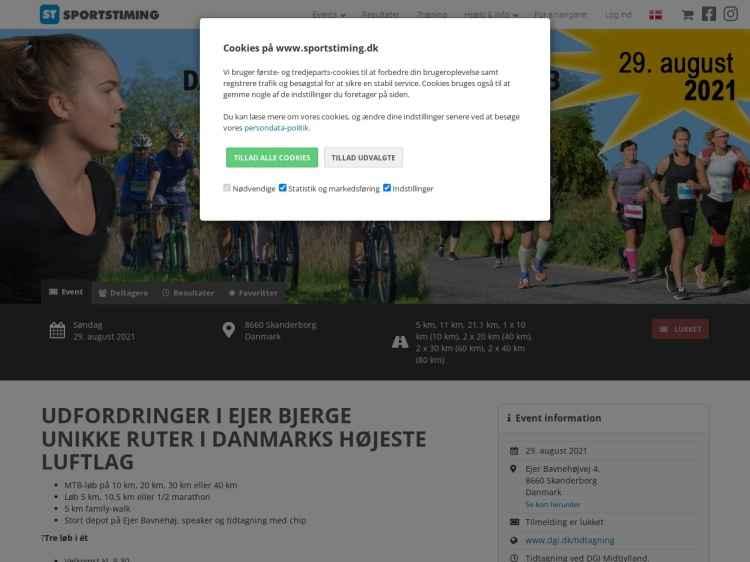 Danmarks Højeste Bjergløb - Motionsløb