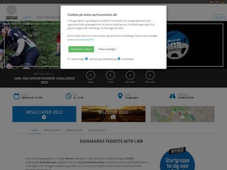 Carl Ras Mountainbike Challenge 2021 - Motionsløb