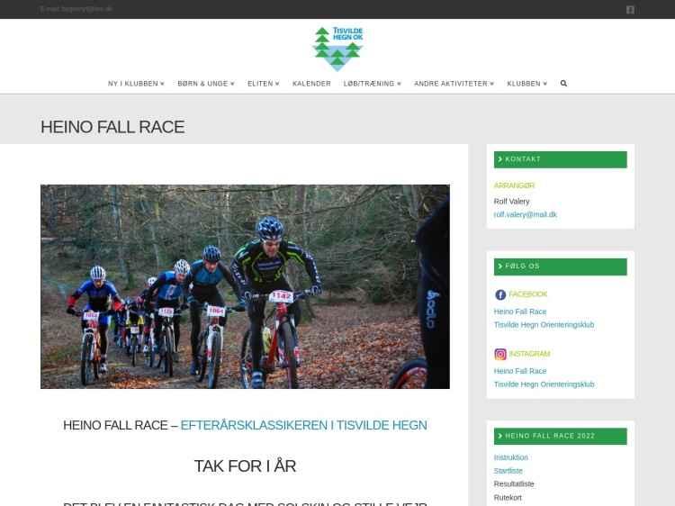 Heino Fall Race