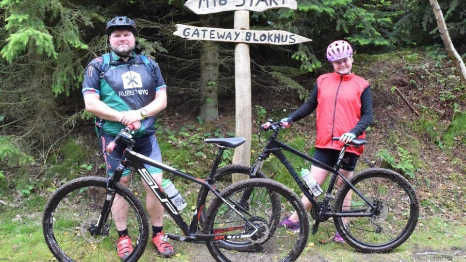Sommerferie med mountainbiken 1. afsnit: Tranum