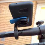 Telefonen som cykelcomputer – test af Quad Lock som holder