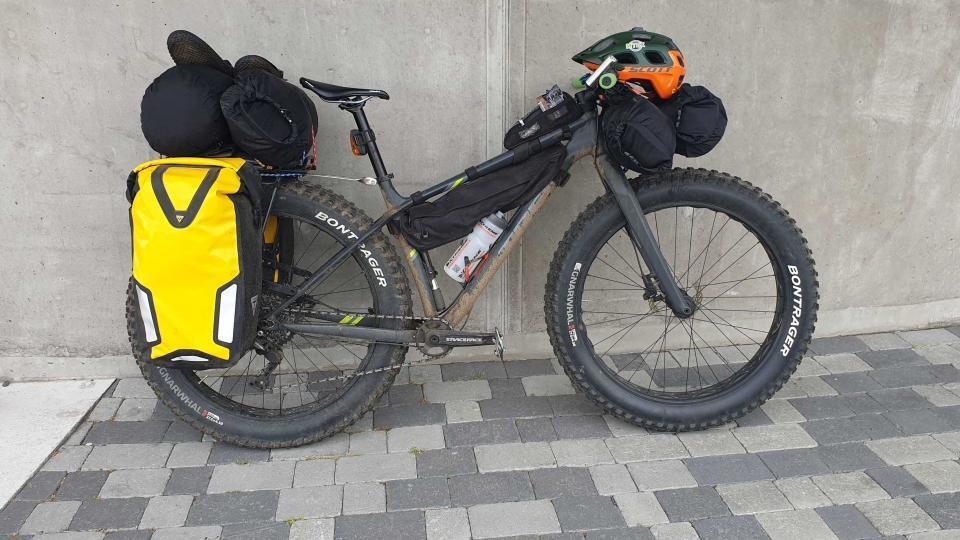 En af de fede cykler – Trek Farley 5