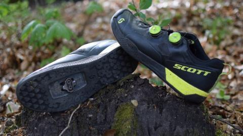 Scotts svar på en trail sko med click: Scott MTB AR BOA