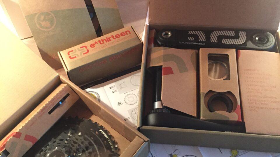 E-Thirteen Carbon Krank og 9-46 Kassette