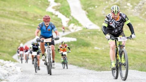 Vaude Engadin Bike giro i Schweitz