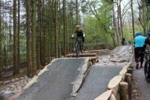 Kirstine Faber i Himmelpind Bike Park