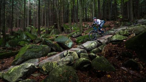 En tur på klipper – Mountainbiking i den østlige del af Tjekkiet
