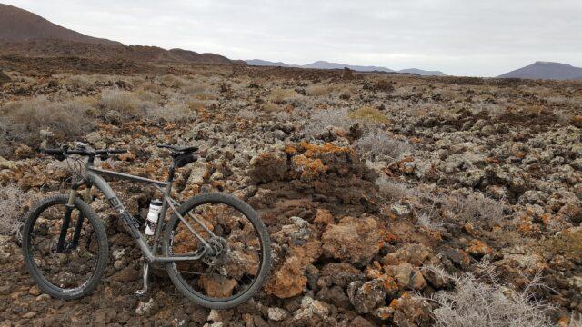 Mountainbike på Playitas resort, Fuerteventura