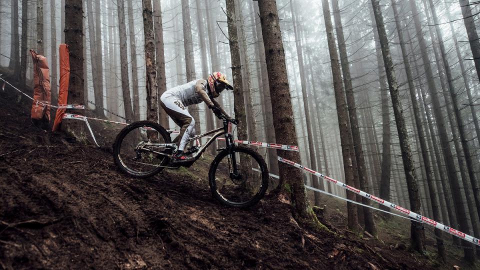 Downhill VM fra Leogang var en mudret fornøjelse