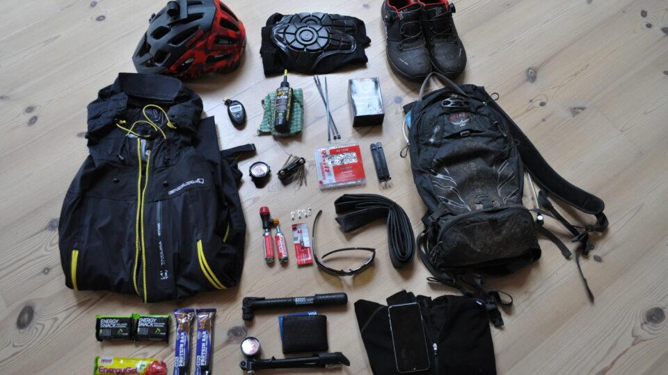 Hvad medbringer man på en mountainbike tur?