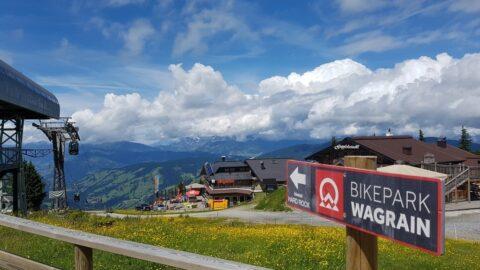 Bikepark Wagrain med Mads Weidemann