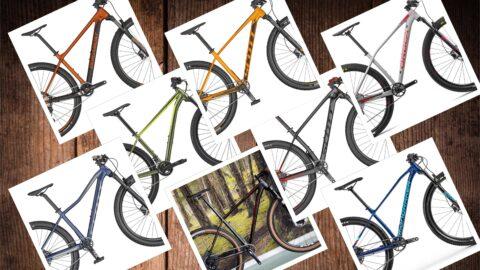Fem forhandleres bud på en budgetvenlig mountainbike