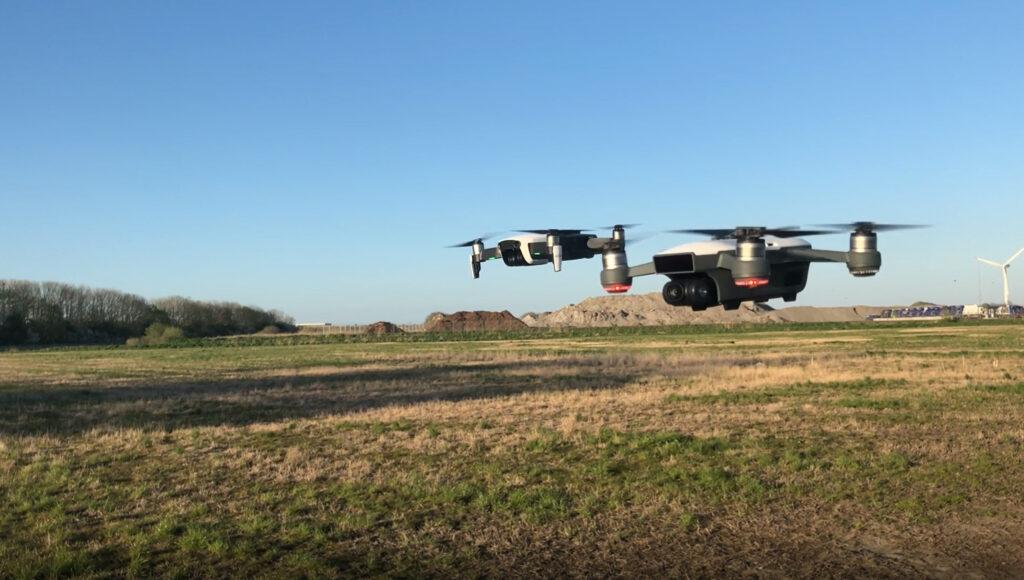 DJI mavic og Spark drone