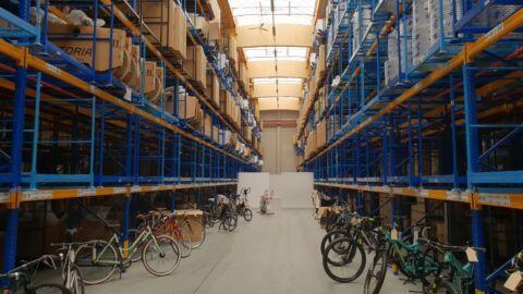 Hvor er cyklerne henne?