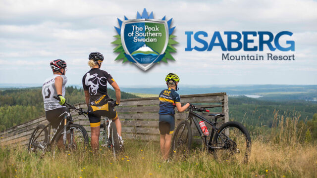 Mountainbike i Isaberg