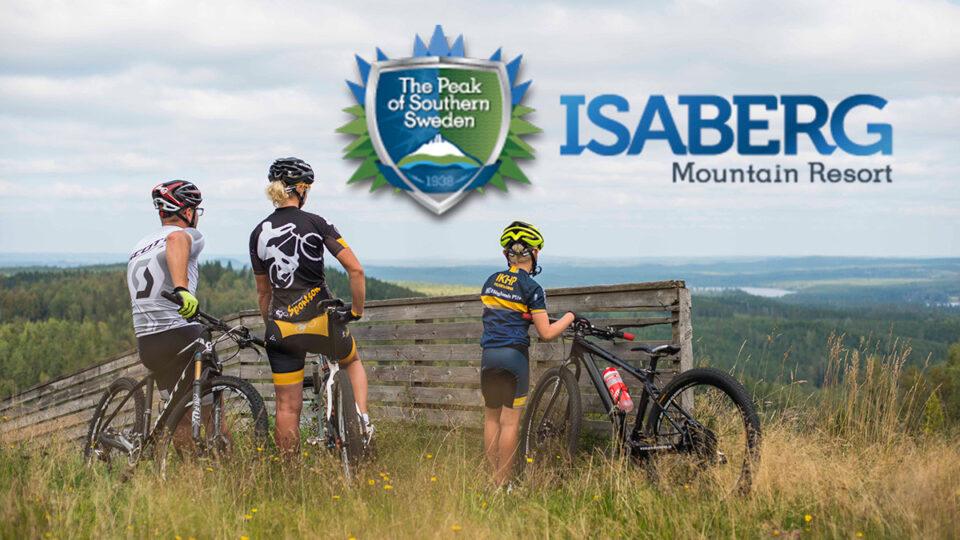 Mountainbike i Isaberg