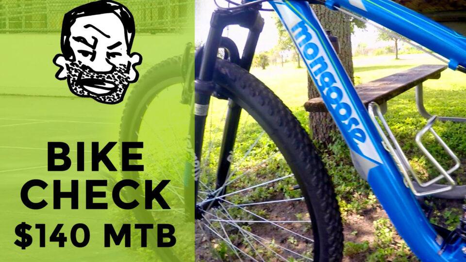 Test af 1.000 kr. mountainbike