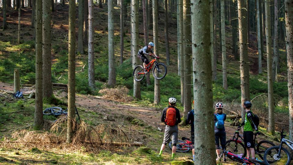 Den største mountainbike-weekend i Silkeborg nogensinde