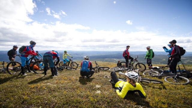 Mountainbike udflugt til Trysil