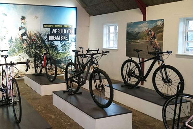 ROSE Bikes støtter sporbygning i Danmark
