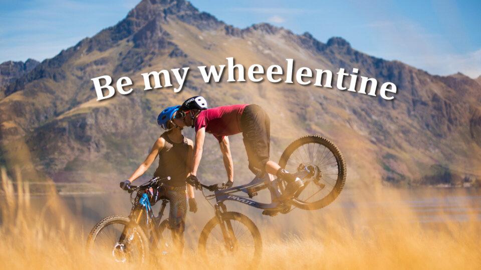Be my Wheelentine ♥️